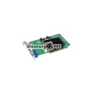 EVGA GeForce 6200 256MB DDR2 64-Bit AGP 8X DVI/ D-Sub/ HDMI/ S-Video Out Video Graphics Card Mfr P/N 256-A8-N401-LR