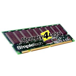 SimpleTech 256MB PC133 133MHz ECC Registered CL3 168-Pin DIMM Memory Module Mfr P/N SCO-XTR/256