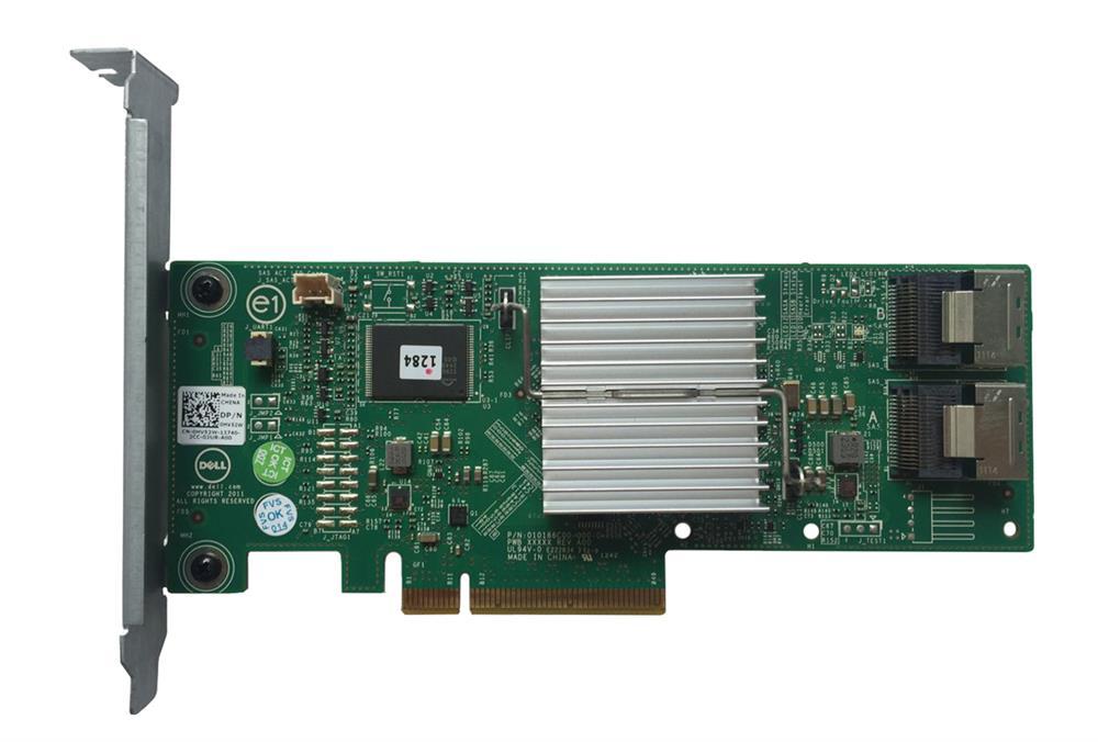 Dell PERC H310 8-Port SAS 6Gbps PCI Express 2.0 x8 RAID Controller Card Mfr P/N 0HV52W