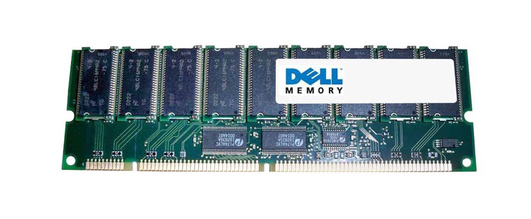 18825 Dell 512MB PC100 100MHz ECC Registered CL2 168-Pin DIMM Memory Module