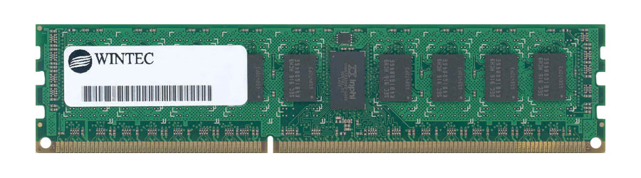 3DU3292B-10 Wintec 2GB PC3-8500 DDR3-1066MHz non-ECC Unbuffered CL7 240-Pin DIMM Dual Rank Memory Module