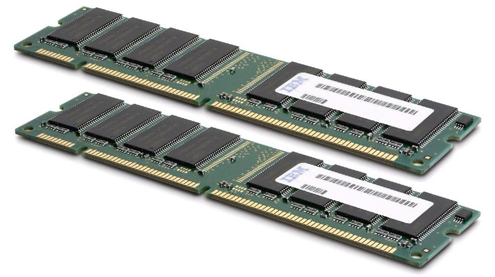 40V5733 IBM Chipkill 4GB Kit (2 X 2GB) PC2-5300 DDR2-667MHz ECC Registered CL5 240-Pin DIMM Single Rank Memory