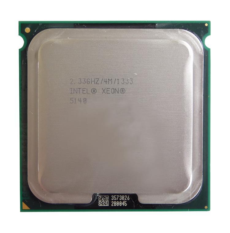 Intel Xeon 5140 Dual Core 2.33GHz 4MB 1333MHz Socket LGA771 SL9RW CPU Processor