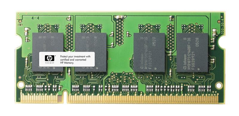 HP 512MB PC2-5300 DDR2-667MHz non-ECC Unbuffered CL5 200-Pin SoDimm Memory Module Mfr P/N 454921-001