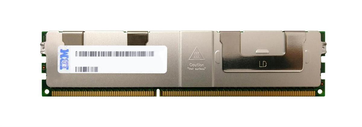 46W0740 IBM 64GB PC3-10600 DDR3-1333MHz ECC Registered CL9 240-Pin Load Reduced DIMM 1.35V Low Voltage Octal Rank Memory Module