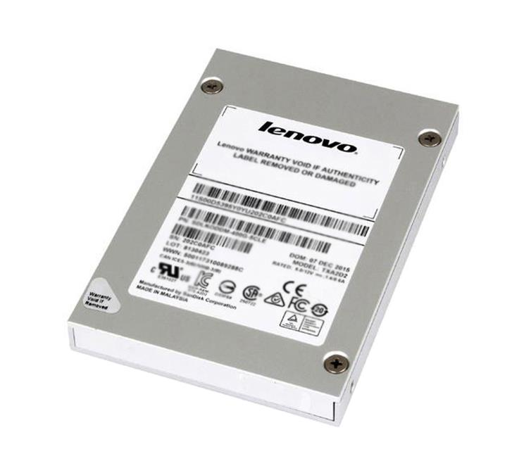 4XB0N68494 Lenovo Enterprise 960GB TLC SATA 6Gbps 2.5-inch Internal Solid State Drive (SSD) with 3.5-inch Tray for ThinkServer TS150