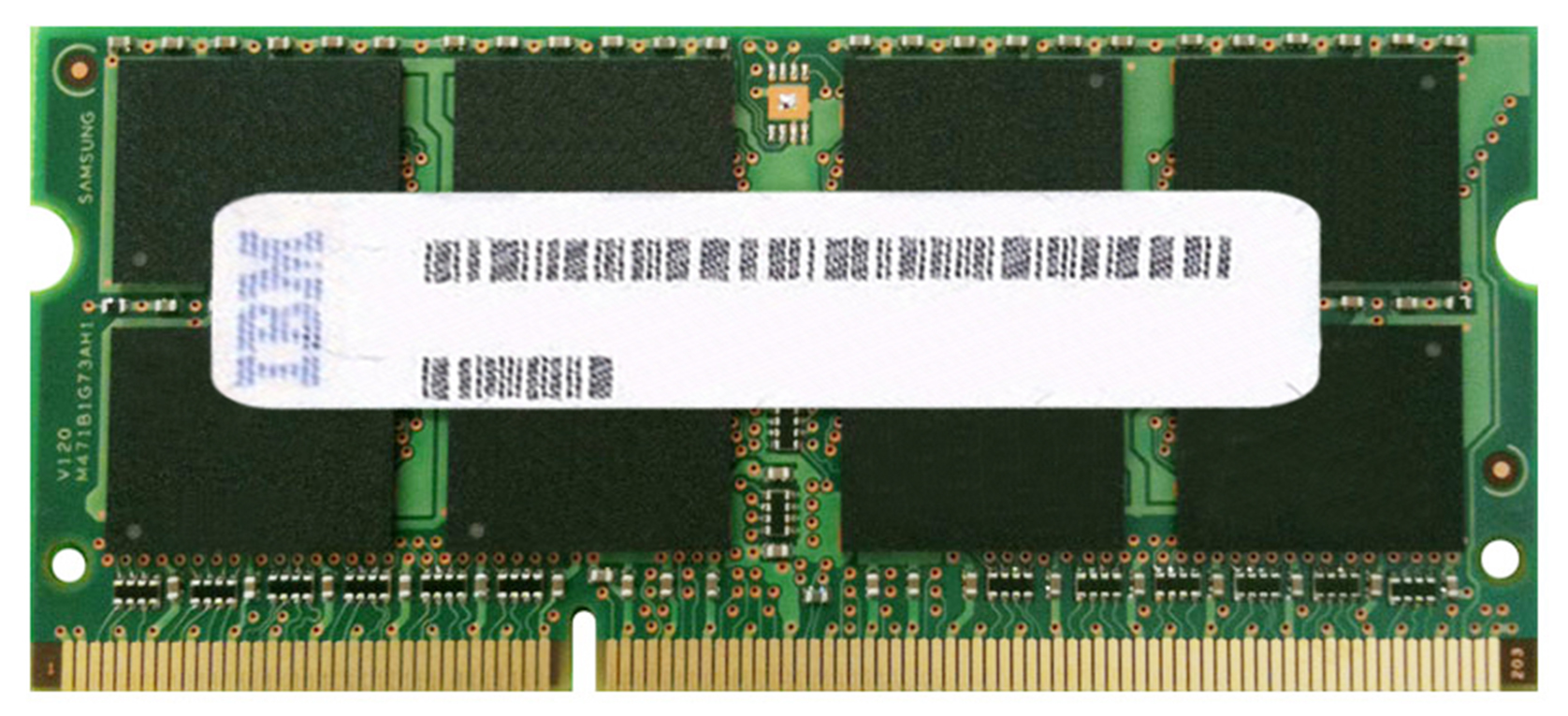 55Y3718 IBM Lenovo 8GB PC3-10600 DDR3-1333MHz non-ECC Unbuffered CL9 204-Pin SoDimm Dual Rank Memory Module