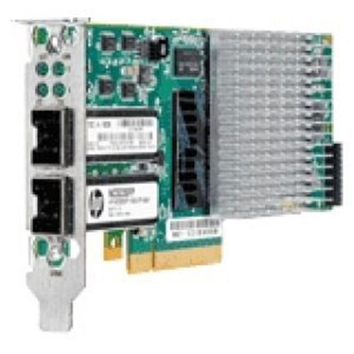 593717-B21 HP Dual-Ports SFP+ 10Gbps 10 Gigabit Ethernet PCI Express 2.0 x8 Server Network Adapter for ProLiant Servers