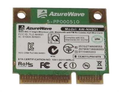 IBM Lenovo 802.11b/g/n Wireless and Bluetooth Combo Card for ThinkPad Mfr P/N 60Y3285