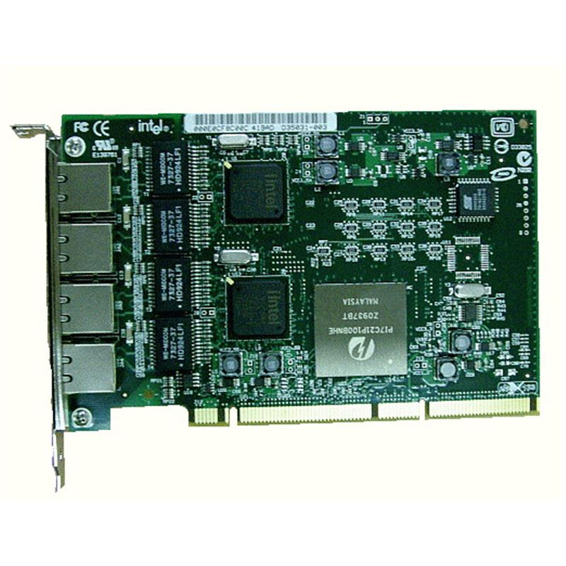 73P5201 IBM PRO/1000 GT Quad-Ports 1Gbps 10Base-T/100Base-TX/1000Base-T Ethernet PCI-X Server Network Adapter by Intel