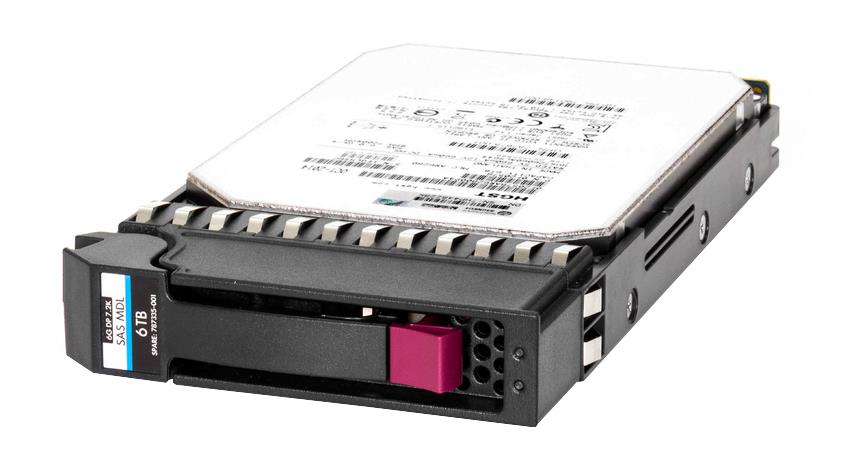787335-001 HP 6TB 7200RPM SAS 6Gbps Midline Hot Swap 3.5-inch Internal Hard Drive
