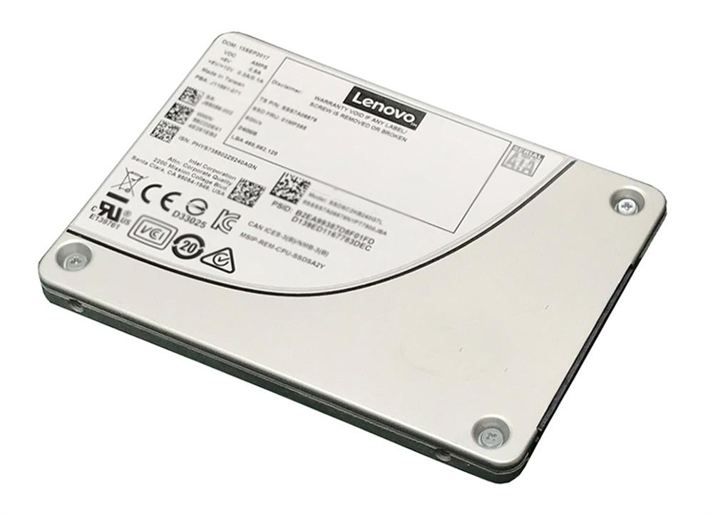 7SD7A05712 Lenovo Enterprise 960GB TLC SATA 6Gbps Hot Swap Mainstream Endurance 2.5-inch Internal Solid State Drive (SSD) with Tray for NeXtScale System