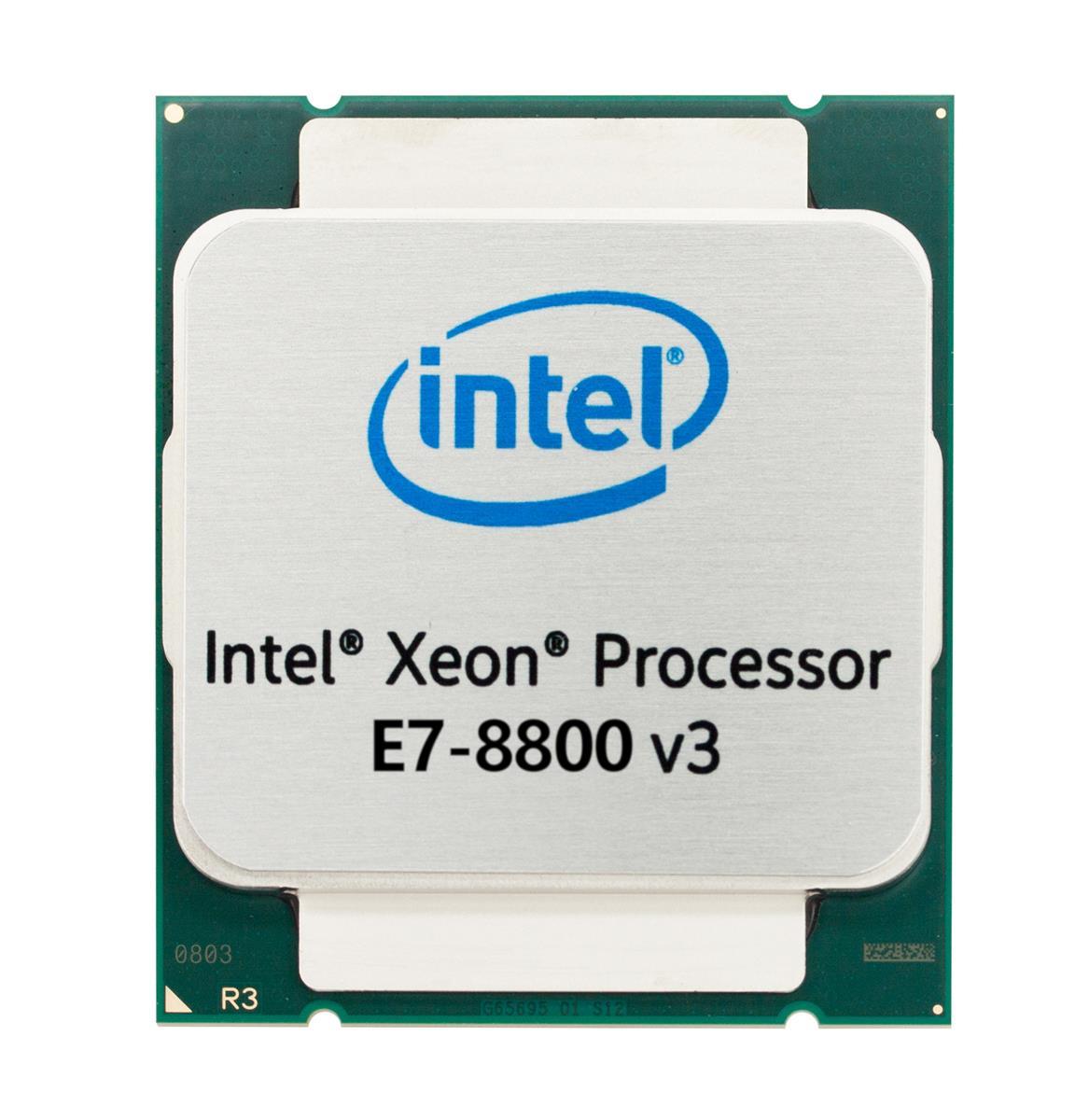 Intel Xeon E7-8890 v3 18 Core 2.50GHz 9.60GT/s QPI 45MB L3 Cache Socket 2011-1 Processor Mfr P/N CM8064501549928
