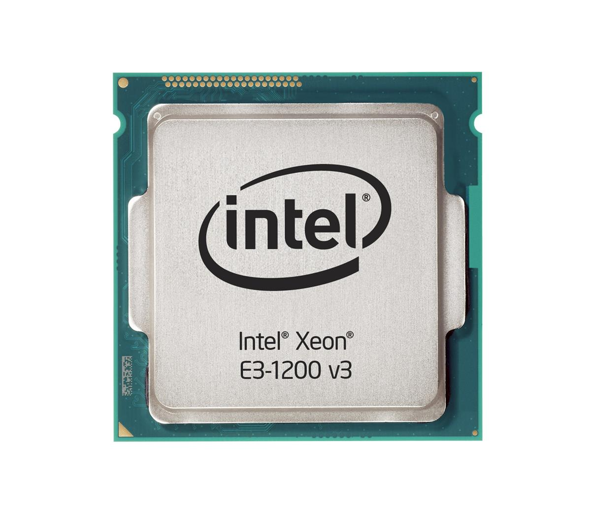 CM8064601575331 Intel Xeon E3-1241 v3 Quad Core 3.50GHz 5.00GT/s DMI2 8MB L3 Cache Socket FCLGA1150 Processor