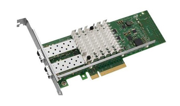 E1G42EF Intel Gigabit EF Dual-Ports LC 1Gbps 1000Base-SX Gigabit Ethernet PCI Express 2.0 x4 Server Network Adapter