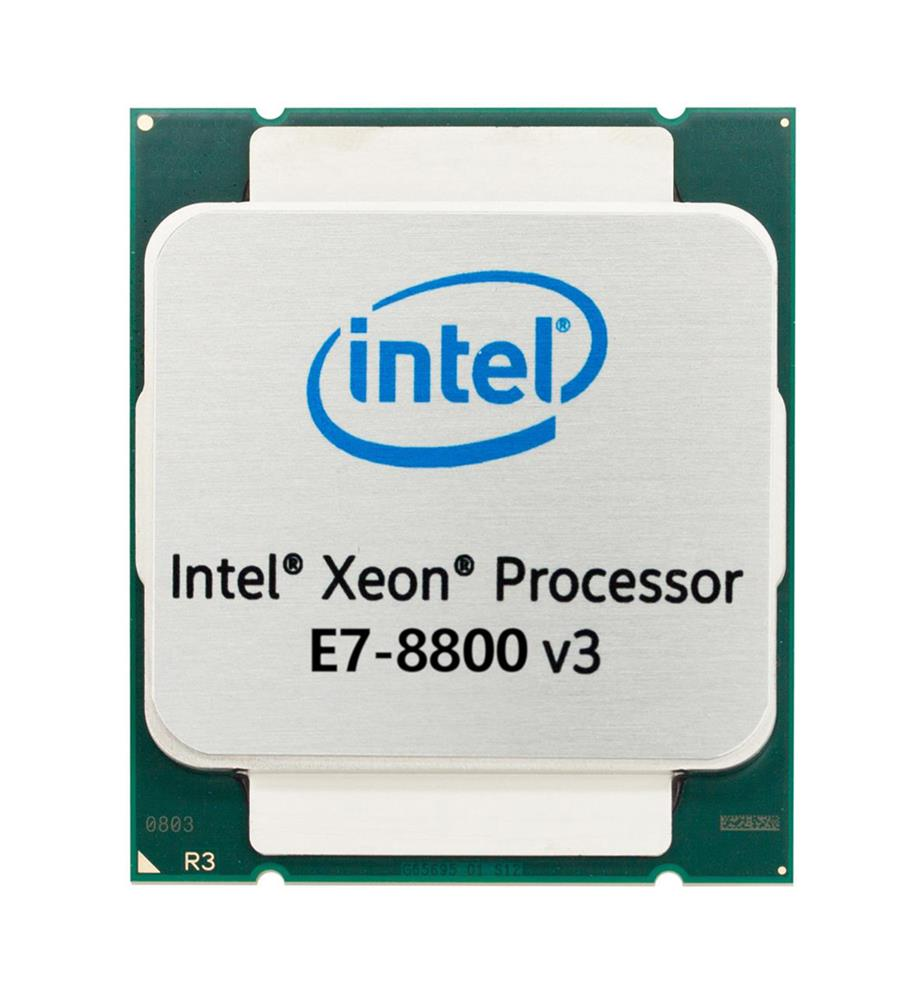Intel Xeon E7-8880 v3 18 Core 2.30GHz 9.60GT/s QPI 45MB L3 Cache Socket 2011-1 Processor Mfr P/N E7-8880v3