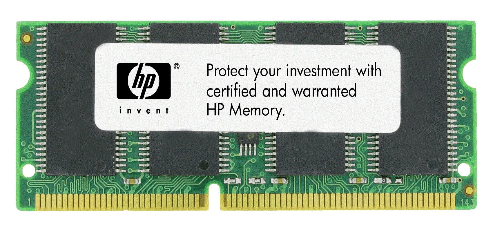 HP 128MB PC66 66MHz non-ECC Unbuffered CL2 144-Pin SoDimm Memory Module Mfr P/N F1622B