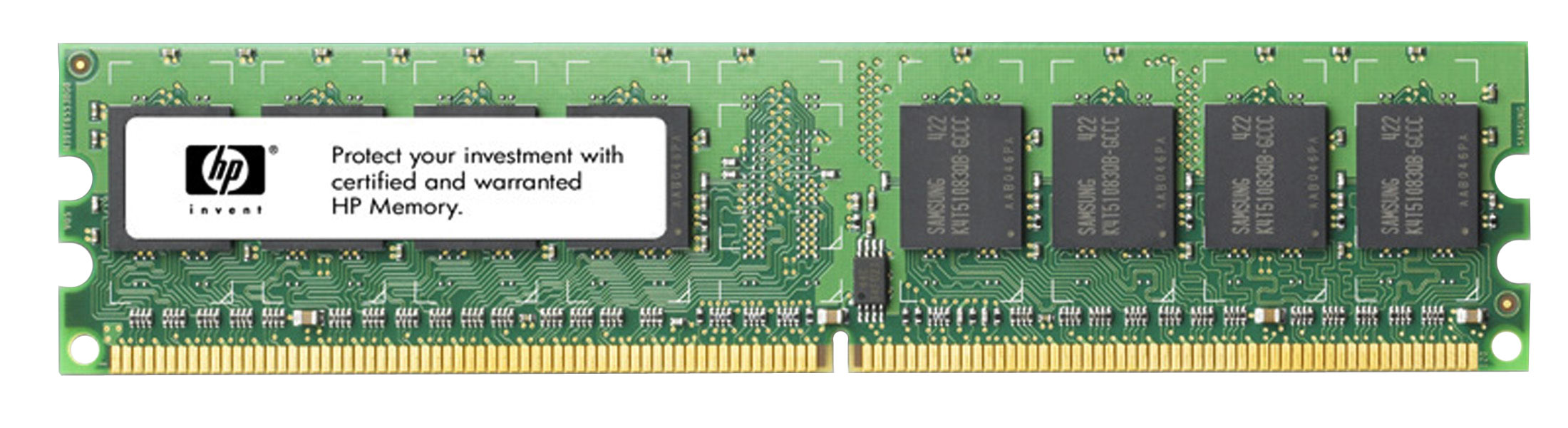 FH977AA HP 4GB PC2-6400 DDR2-800MHz non-ECC Unbuffered CL6 240-Pin DIMM Memory Module