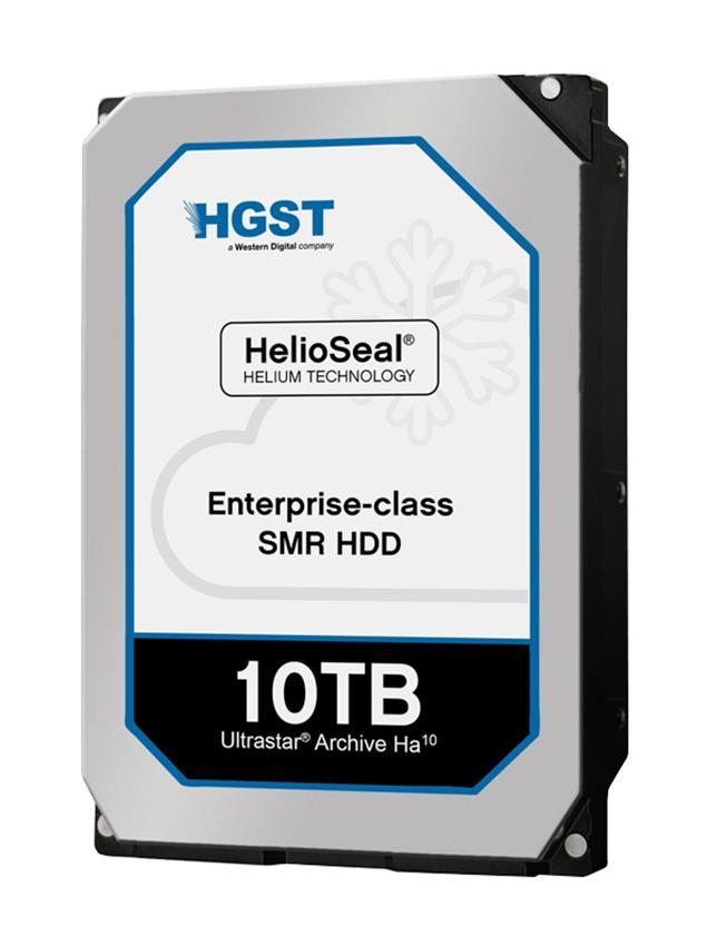HGST Hitachi Ultrastar Archive Ha10 10TB 7200RPM SAS 6Gbps 256MB Cache (TCG / 4Kn) 3.5-inch Internal Hard Drive Mfr P/N HMH7210A0AL4601
