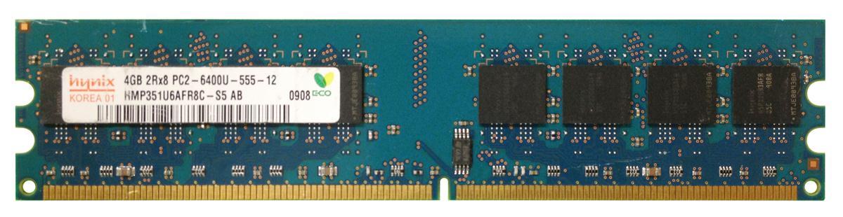M4L Certified 4GB 800MHz DDR2 PC2-6400 Non-ECC CL5 240-Pin Dual Rank x8 DIMM Mfr P/N M4L-PC2800ND2D85D-4G