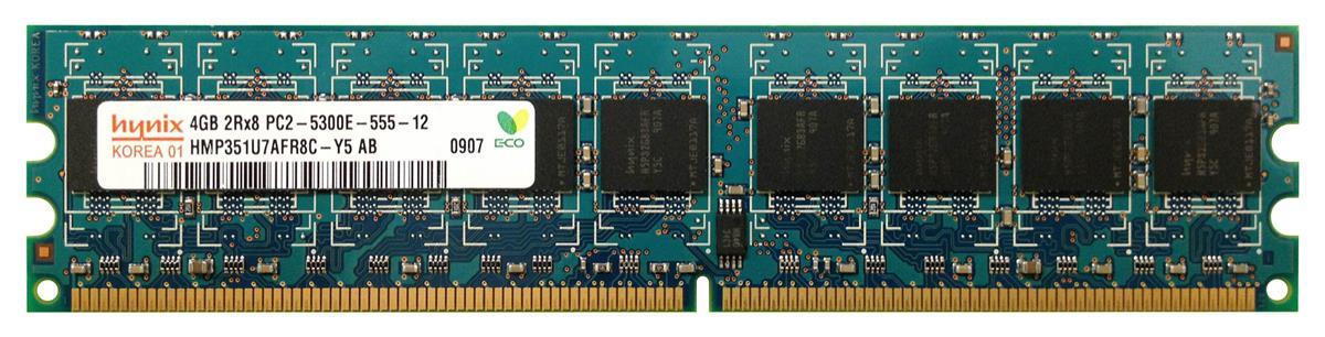 M4L Certified 4GB 667MHz DDR2 PC2-5300 ECC CL5 240-Pin Dual Rank x8 DIMM Mfr P/N M4L-PC2667D2E5-4G
