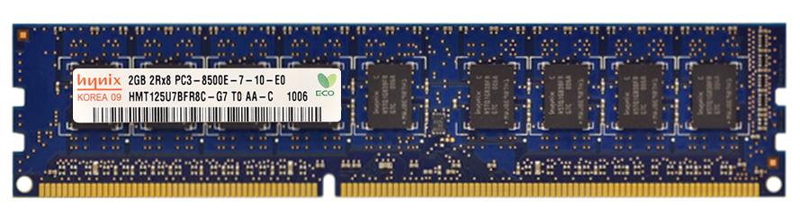 2GB Hynix HMT125U7BFR8C-G7 T0 AA-C PC3-8500E DDR3 ECC Unbuffered Server Memory