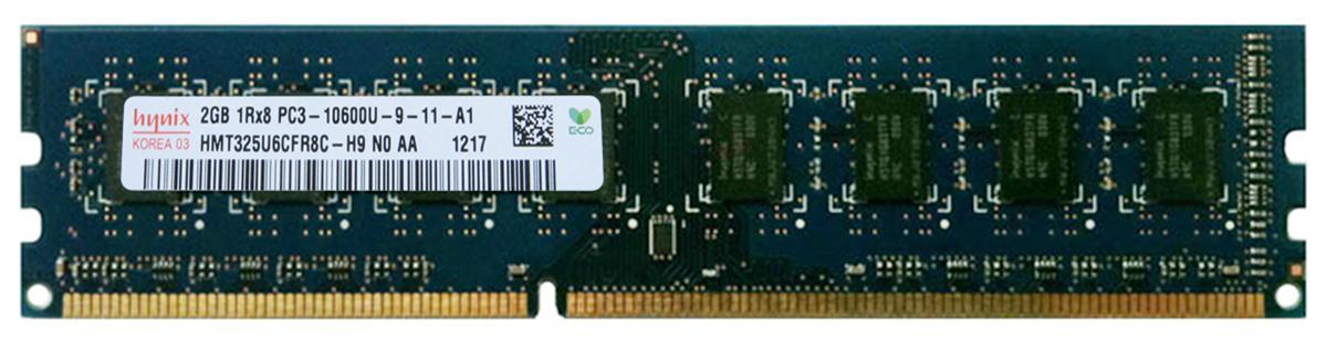 4 x 2GB Hynix Lot of 4-2GB HMT325U6CFR8C-H9 PC3-10600 DDR3 1333 PC Memory