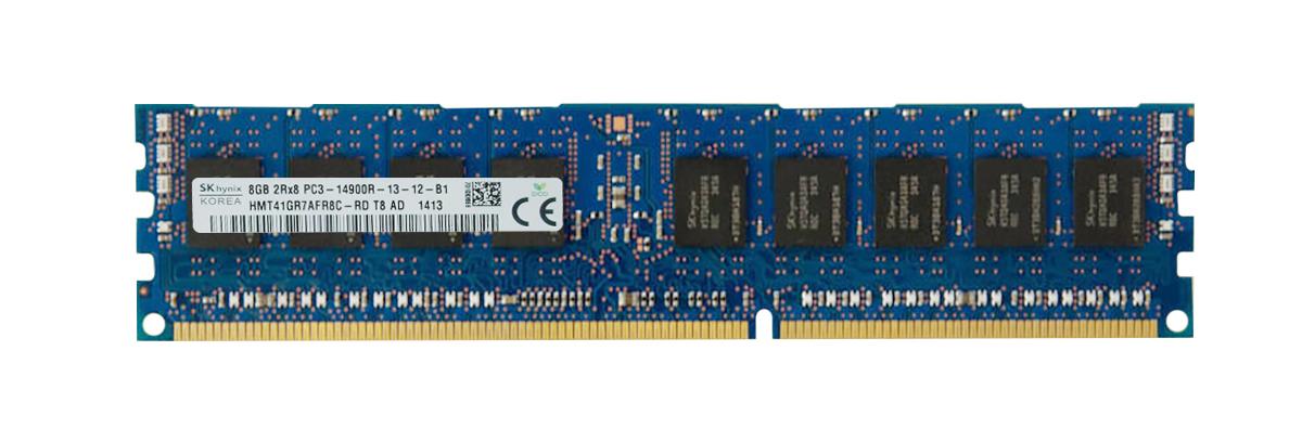 M4L Certified 8GB 1866MHz DDR3 PC3-14900 Reg ECC CL13 240-Pin DIMM Dual Rank x8 DIMM Mfr P/N M4L-PC318R13D8-8