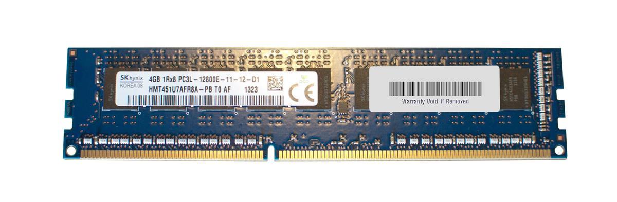 M4L Certified 4GB 1600MHz DDR3 PC3-12800 ECC CL11 240-Pin Single Rank x8 1.35V Low Voltage DIMM Mfr P/N M4L-PC31600ED3S811DL-4G
