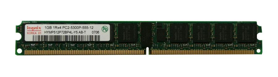M4L Certified 1GB 667MHz DDR2 PC2-5300 Reg ECC CL5 240-Pin Single Rank x4 VLP DIMM Mfr P/N M4L-PC2667RD2S45DV-1G