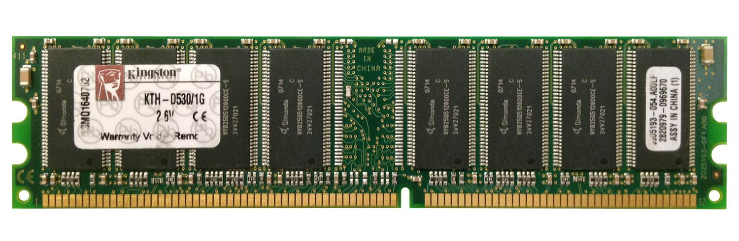 Kingston 1GB PC3200 DDR-400MHz non-ECC Unbuffered CL3 184-Pin DIMM Memory Module for HP/Compaq Mfr P/N DE468A, DE468G