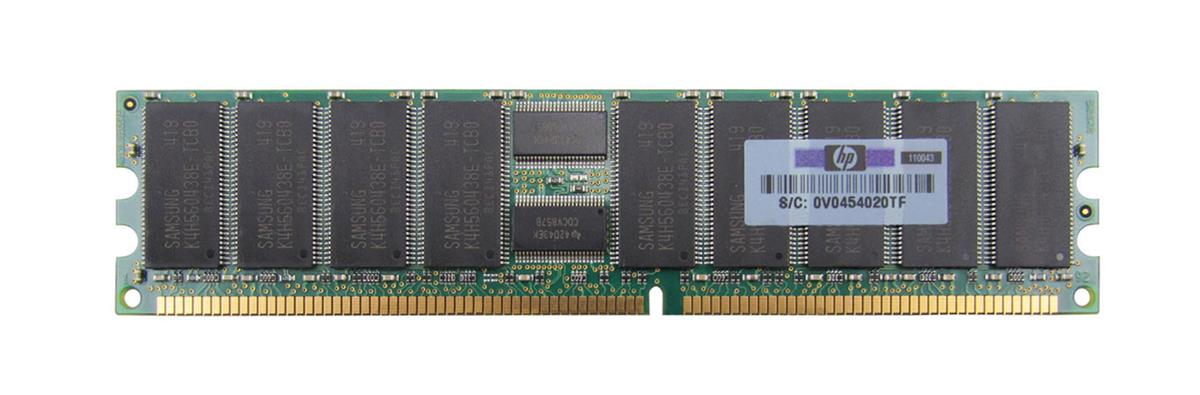 M36VDDT51272Y-335A2 Micron 4GB PC2700 DDR-333MHz ECC Registered CL2.5 184-Pin DIMM Dual Rank Memory Module