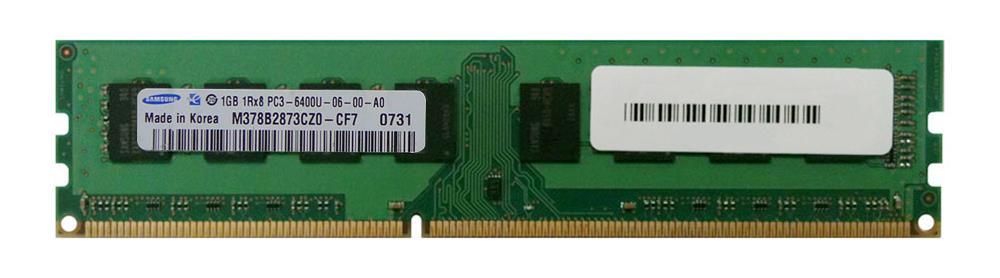 M4L Certified 1GB 800MHz DDR3 PC3-6400 Non-ECC CL6 240-Pin Single Rank x8 DIMM Mfr P/N M4L-PC3800ND3S86D-1G