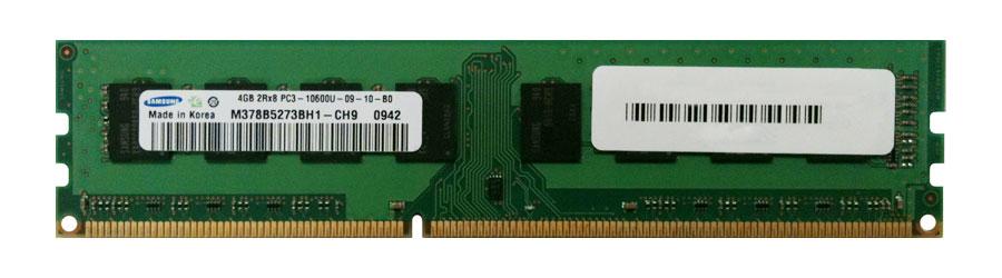 M4L Certified 4GB 1333MHz DDR3 PC3-10600 Non-ECC CL9 240-Pin Dual Rank x8 DIMM Mfr P/N M4L-PC31333D3N9-4G