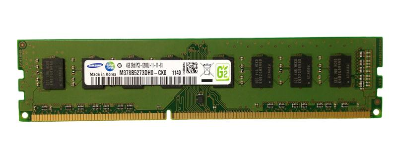 M4L-PC316N11-4G M4L Certified 4GB 1600MHz DDR3 PC3-12800 Non-ECC CL11 240-Pin Dual Rank x8 DIMM