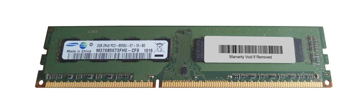 M4L Certified 2GB 1066MHz DDR3 PC3-8500 Non-ECC CL7 240-Pin Dual Rank x8 DIMM Mfr P/N M4L-PC31066D3N7-2G