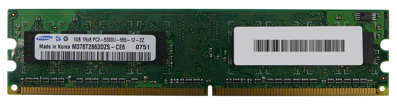 M4L Certified 1GB 667MHz DDR2 PC2-5300 Non-ECC CL5 240-Pin Single Rank x8 DIMM Mfr P/N M4L-PC2667ND2S85D-1G