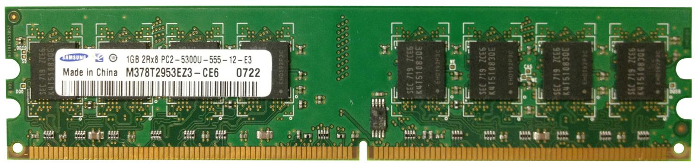 Samsung 1GB DDR2 PC5300 667MHz SDRAM  M378T2953EZ3-CE6 D-05