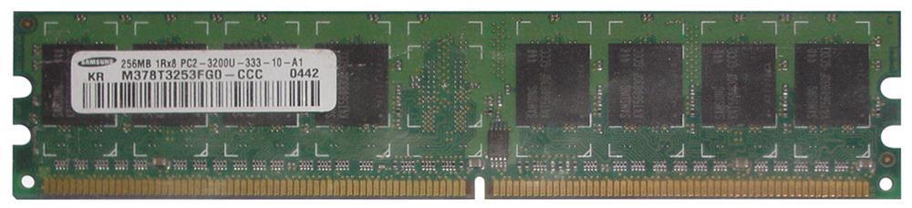 M4L Certified 256MB 400MHz DDR2 PC2-3200 Non-ECC CL3 240-Pin Single Rank x8 DIMM Mfr P/N M4L-PC2400ND2S83D256M