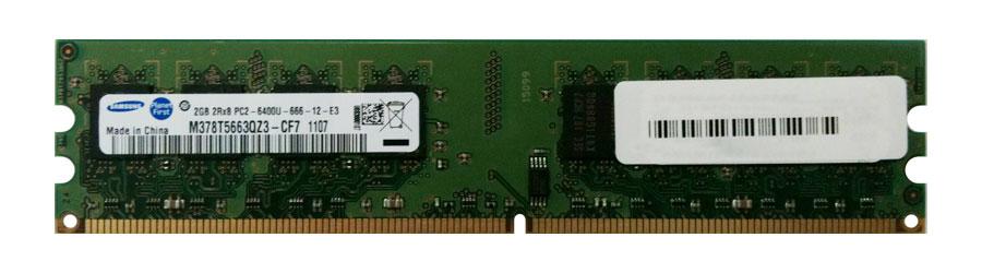 M4L Certified 2GB 800MHz DDR2 PC2-6400 Non-ECC CL6 240-Pin Dual Rank x8 DIMM Mfr P/N M4L-PC2800D2N6-2G