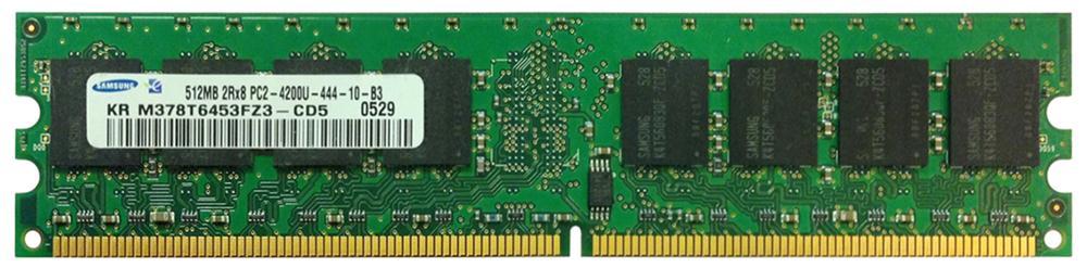 M4L Certified 512MB 533MHz DDR2 PC2-4200 Non-ECC CL4 240-Pin Dual Rank x8 DIMM Mfr P/N M4L-PC2533ND2D84D-512M