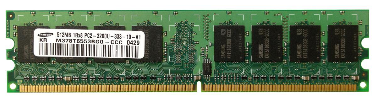 M4L Certified 512MB 400MHz DDR2 PC2-3200 Non-ECC CL3 240-Pin Single Rank x8 DIMM Mfr P/N M4L-PC2400D2N3-512