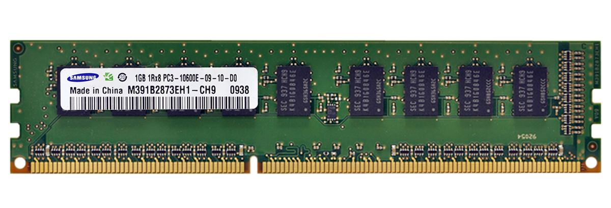 M4L Certified 1GB 1333MHz DDR3 PC3-10600 ECC CL9 240-Pin Single Rank x8 DIMM Mfr P/N M4L-PC31333D3E9S-1G