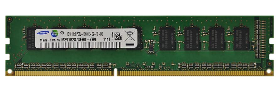 M4L Certified 1GB 1333MHz DDR3 PC3-10600 ECC CL9 240-Pin Single Rank x8 1.35V Low Voltage DIMM Mfr P/N M4L-PC31333ED3S89DL-1G