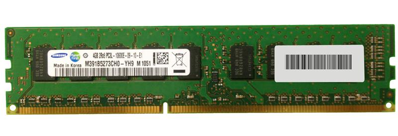 M4L-PC31333ED3D89DL-4G M4L Certified 4GB 1333MHz DDR3 PC3-10600 ECC CL9 240-Pin Dual Rank x8 1.35V Low Voltage DIMM