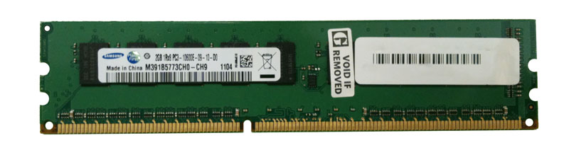 M4L-PC31333D3S8E9S-2G M4L Certified 2GB 1333MHz DDR3 PC3-10600 ECC CL9 240-Pin Single Rank x8 DIMM