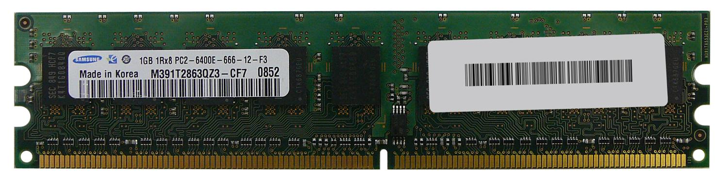 M4L Certified 1GB 800MHz DDR2 PC2-6400 ECC CL6 240-Pin Single Rank x8 DIMM Mfr P/N M4L-PC2800ED2S86D-1G