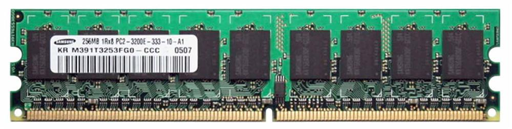 M4L Certified 256MB 400MHz DDR2 PC2-3200 ECC CL3 240-Pin Single Rank x8 DIMM Mfr P/N M4L-PC2400D2E3-256