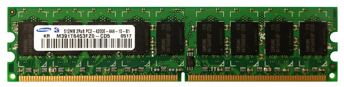 M4L Certified 512MB 533MHz DDR2 PC2-4200 ECC CL4 240-Pin Dual Rank x8 DIMM Mfr P/N M4L-PC2533ED2D84D-512M