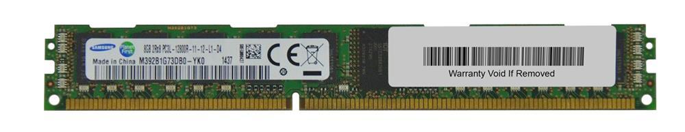 M4L Certified 8GB 1600MHz DDR3 PC3-12800 Reg ECC CL11 240-Pin Single Rank x8 VLP 1.35V Low Voltage DIMM Mfr P/N M4L-PC31600RD3S811DVL-8G